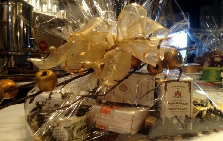 Gift Baskets at Herma's! Make a grand statement.