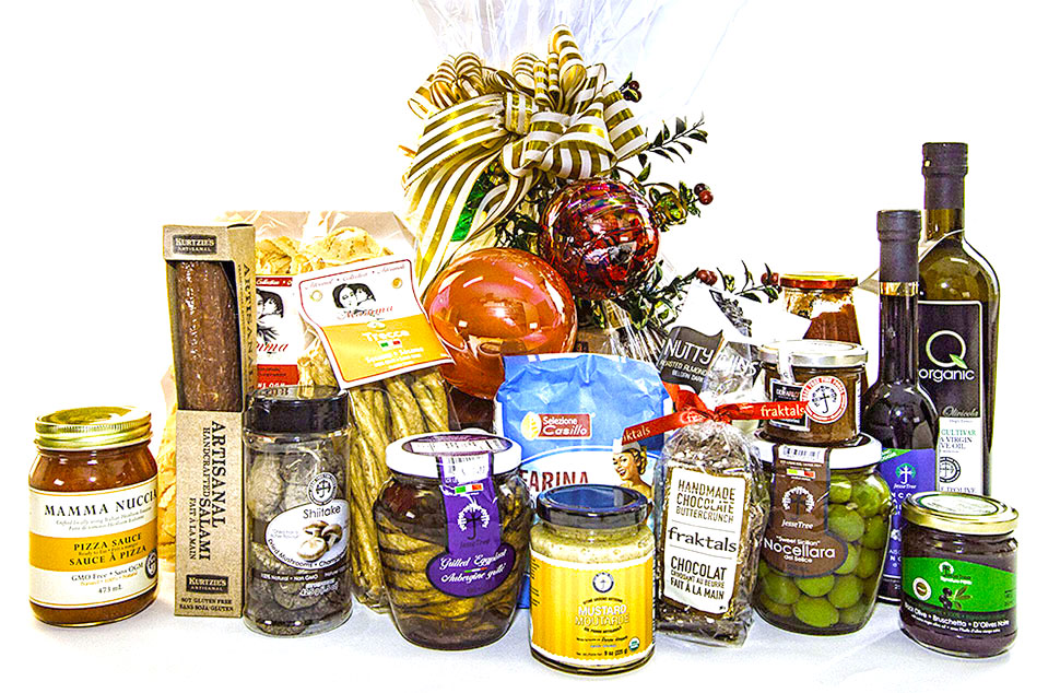 Gift Basket - contents